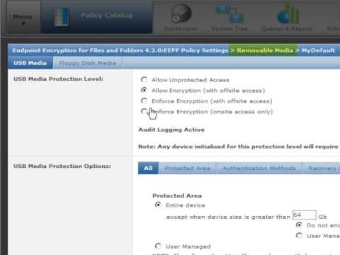 McAfee FRP Demo (File & Removable-media Protection)