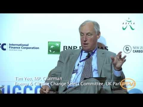 Tim Yeo, United Kingdom | First Global Investor Forum on Climate Change