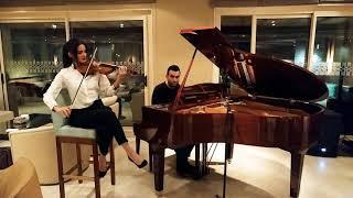 El Baño - Enrique Iglesias (Violin Cover by Samira Riachy)