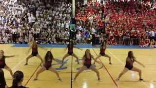 SRHS Dance Team Homecoming Pep Rally