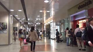 【歩撮】「名古屋駅」太閤通口から桜通口まで  [stroll filming]