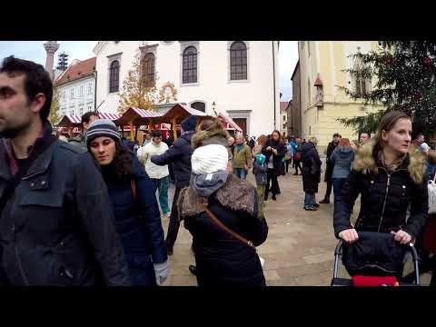 Vianočné trhy . Christmas market - Bratislava Slovakia 2017