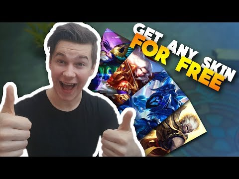 Get Any SKIN For FREE in Mobile Legends!