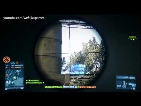 Battlefield 3: Headshot on Chopper Pilot