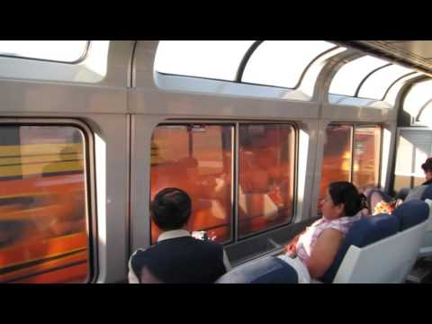 Meets Onboard the Southwest Chief