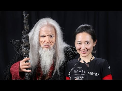 Cinema Makeup School Student Makeup FX Demos - LIVE@IMATS 2015