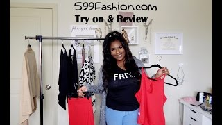FASHION HAUL & TRY ON | REVIEW | 599FASHION.COM