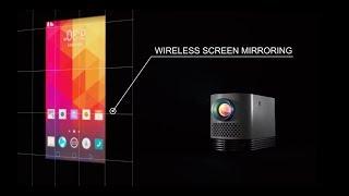 Mobiler Projektor: LG ProBeam Andante HF80JS