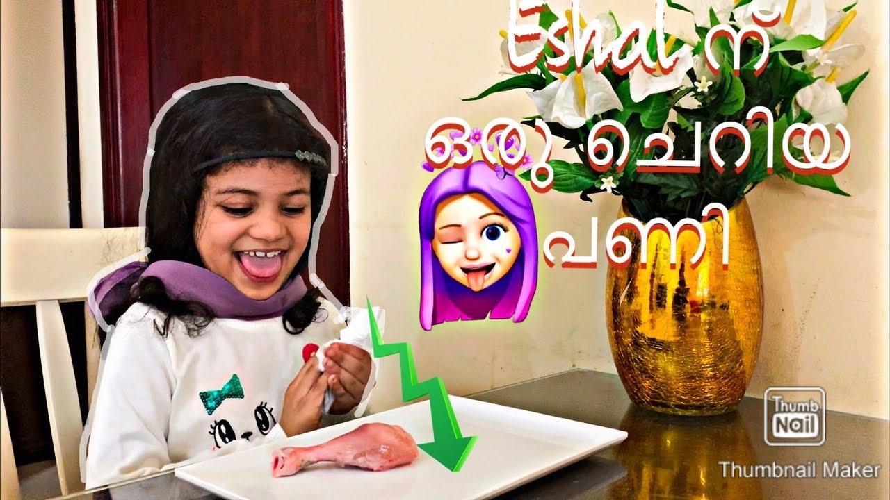 Eshal ന് ഒരു ചെറിയ പണി   Malayalam challenge    Rinus Tiny world   