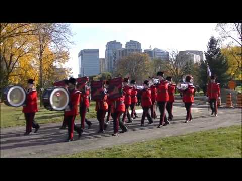 2016 North York Cemetery Remembrance Parade ft. 1888 Cadet C