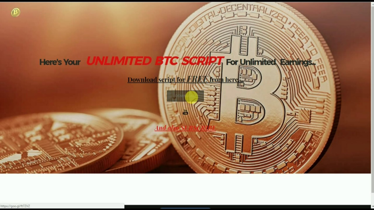 how to get unlimited bitcoins
