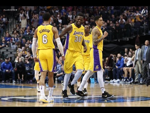 Lakers Win their 4th Streight game vs the Mavericks on the raod!! Live with DTLF!!