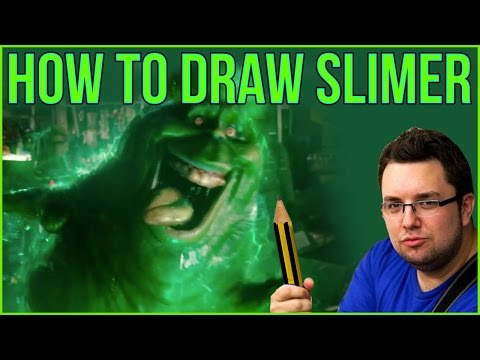 How To Draw Slimer from Ghostbusters
