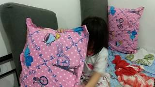 Ratex family - How to make pillow house