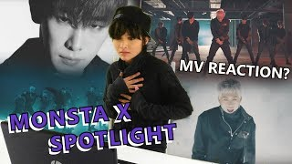 WATCHING MONSTA X SPOTLIGHT - MV REACTION? by Frost