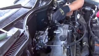 Adaptación de carburador a Renault 19 de Inyección electrónica