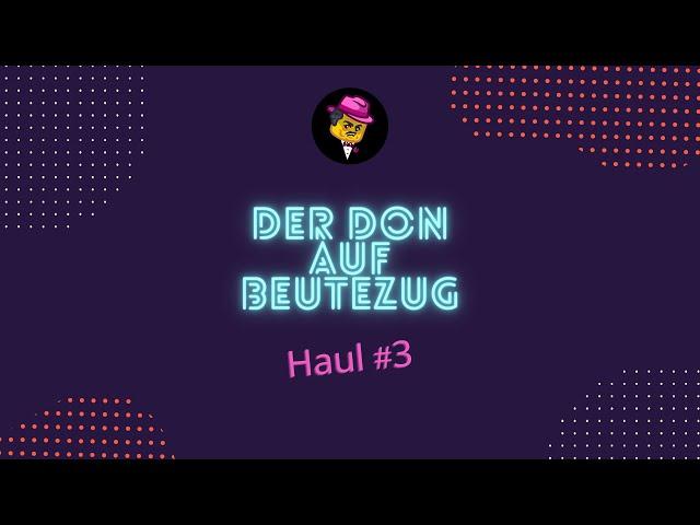 Der Don auf Klemmbaustein-Beutezug | Haul #3 vom 18. August 2021