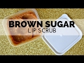 How to Make Brown Sugar Honey Lip Scrub