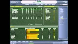 Football Manager 2006 PC 2005 Gameplay