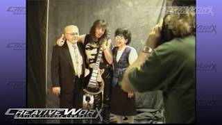 Space Ace: Ace Frehley / Eric Carr Raw video of RockWalk Induction