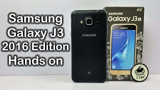 Samsung Galaxy J3 2016 Edition Unboxing & Hands on review: First Look