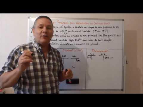 Vidéo [40] : Les provisions pour dépréciation des créances clients