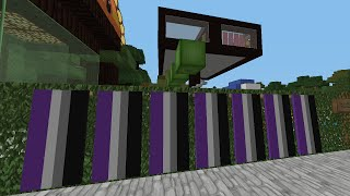 Minecraft Quickie - How to Make an Asexual #Pride Flag