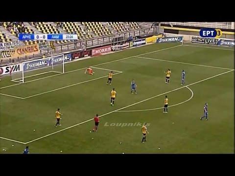 Άρης - Λαμία 0-0 Στιγμιότυπα Football League 31η αγ. {21/5/2017}