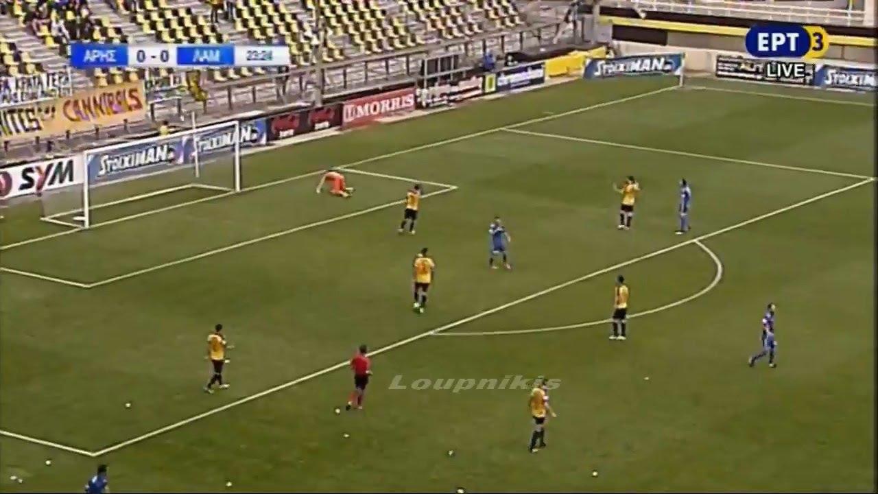 Αρης: Λαμία 0-0 Στιγμιότυπα Football League 31η αγ. {21/5