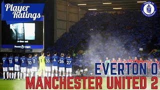Everton 0-2 Manchester United | EFC Player Ratings