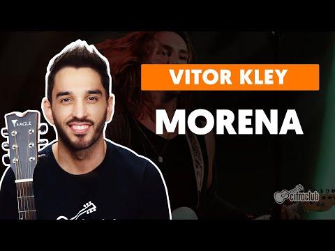 MORENA - Vitor Kley part Bruno Martini  de violão  Como Tocar no violão