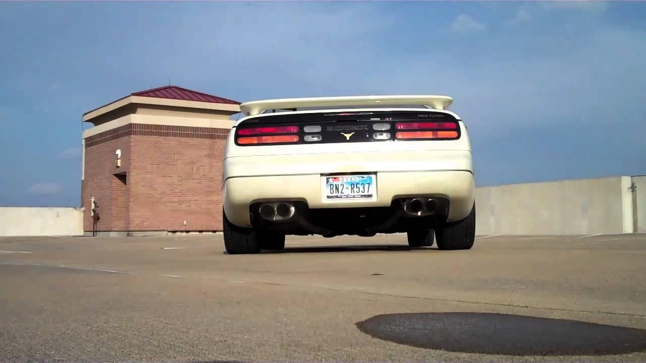 1994 Nissan 300ZX TT - Specialty Z Exhaust - YouTube