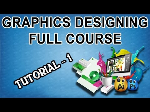 Graphics Designing Full Course in Urdu/Hindi - Tutorial-1