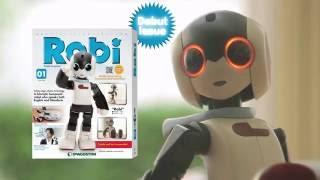 Robi, the Talking, Dancing Robot