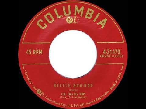 1955 Collins Kids - Beetle-Bug-Bop - YouTube