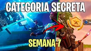 FORTNITE-FREE SECRET CATEGORY OF WEEK 7 OF THE SEASON 5 BATTLE PASS!