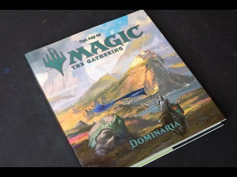 (book flip) The Art of Magic: The Gathering - Dominaria