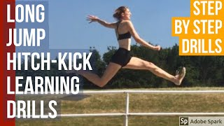 Long Jump Technique - Hitch kick Learning Drills