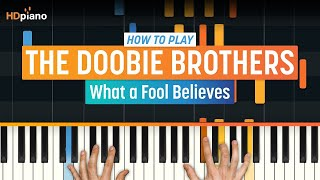 "How To Play ""What a Fool Believes"" by The Doobie Brothers 