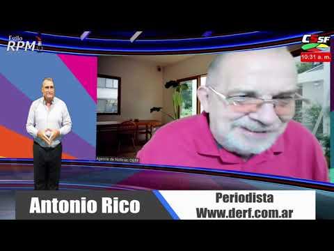 Antonio Rico: Majul es un pelotudo