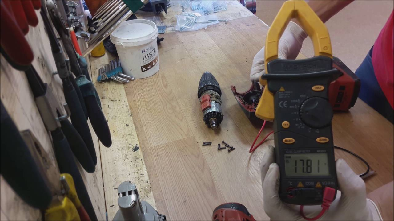 Hilti Cordless Drill Repair Carbon Brushes Replace