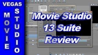 Review of Sony Movie Studio Suite 13