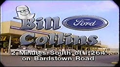 Bill Collins Ford 90s Era Commercial Louisville, KY