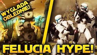 TAK wygląda FELUCIA!  Star Wars Battlefront 2 PL