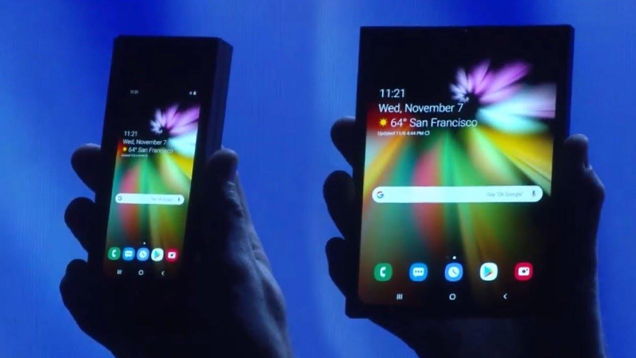 Samsung Announces Foldable INFINITY FLEX Display!!!