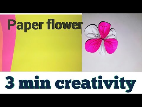 How to make Beautiful paper Flowers| Very Easy DIY Crafts