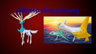 Latias and latios GTS Giveaway/ GTS War Giveaway! Battle Ready! | pokemon shiny giveaway