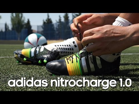 Review bota adidas Nitrocharge 1.0 Negra-Solar gold