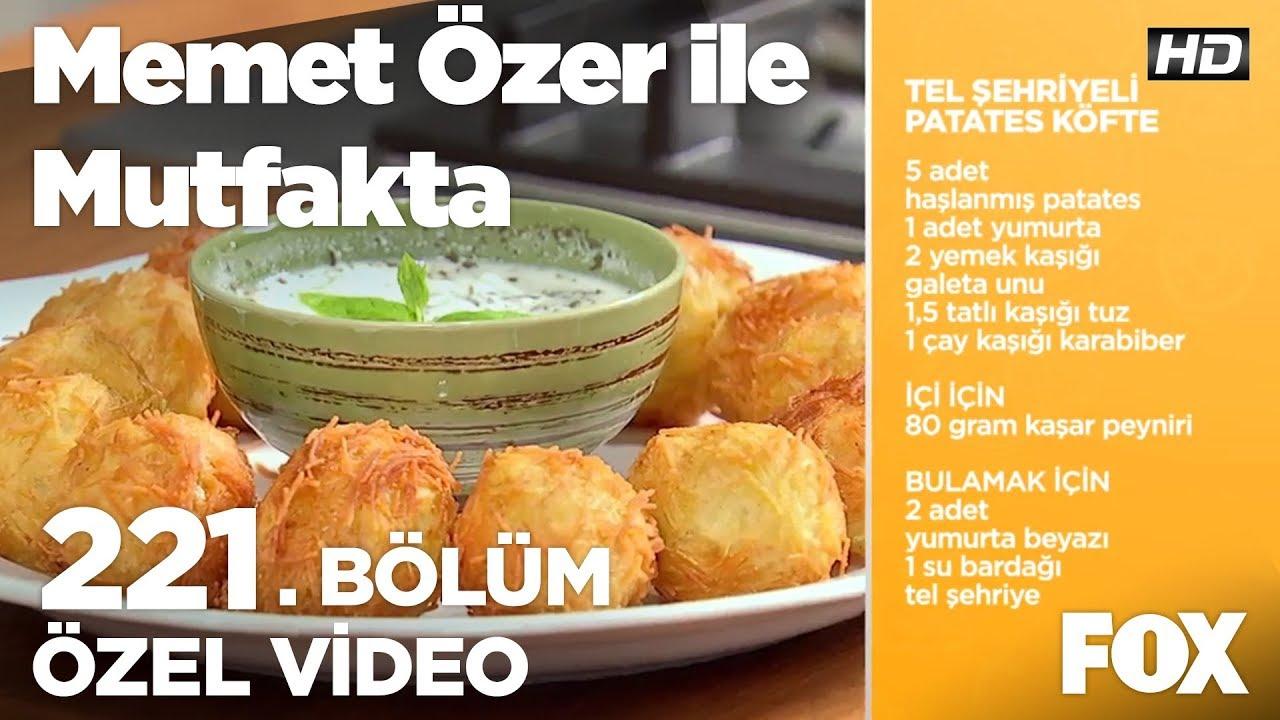 Tel Şehriyeli Patates Kroket Tarifi