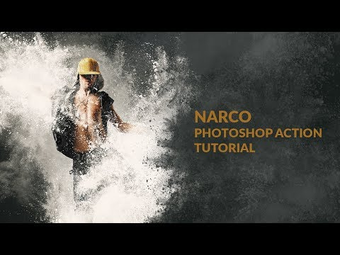 Narco Photoshop Action Tutorial